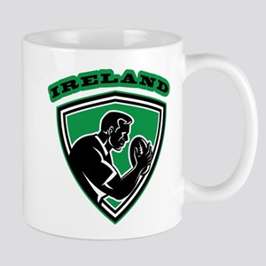 Ireland rugby player Mug