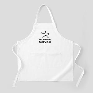 Tennis Served Apron