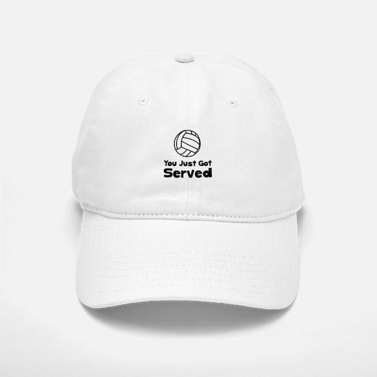 Volleyball Served Baseball Baseball Cap