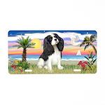 Palms-Tri Cavalier #6 Aluminum License Plate