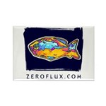 Tropical Fish Rectangle Magnet