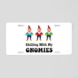 Gnomies Aluminum License Plate