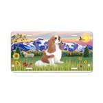 Mt Country-Cavalier (BL-F) Aluminum License Plate