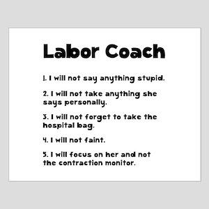 Labor Coach Small Poster