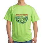 405 TRAFFIC REPORT = PARKING LOT Green T-Shirt