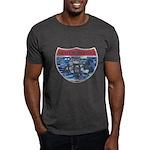 405 TRAFFIC REPORT = PARKING LOT Dark T-Shirt