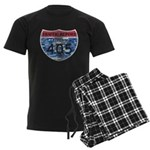 405 TRAFFIC REPORT = PARKING LOT Men's Dark Pajama