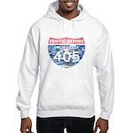 405 TRAFFIC REPORT = PARKING LOT Hooded Sweatshirt