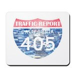 405 TRAFFIC REPORT = PARKING LOT Mousepad
