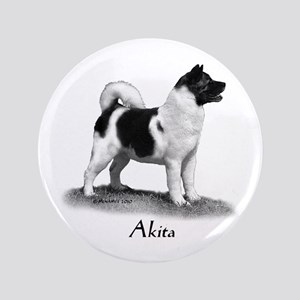 """Akita 3.5"""" Button"""