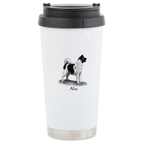Akita Stainless Steel Travel Mug