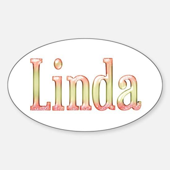 Linda Sticker (Oval)
