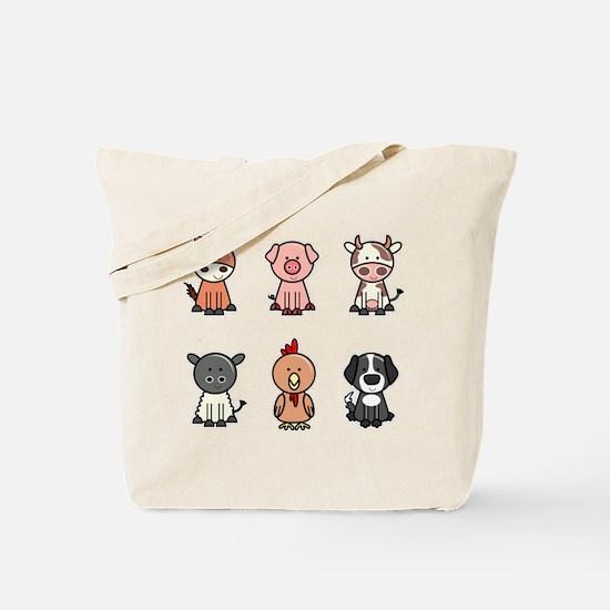 Animal icons Tote Bag