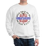 For our Troops Sweatshirt