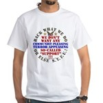 For our Troops White Tee