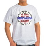 For our Troops Light T-Shirt