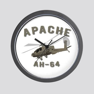 Apache AH-64 Wall Clock