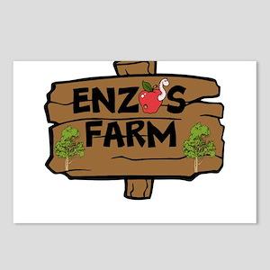 Enzos Farm Postcards (Package of 8)