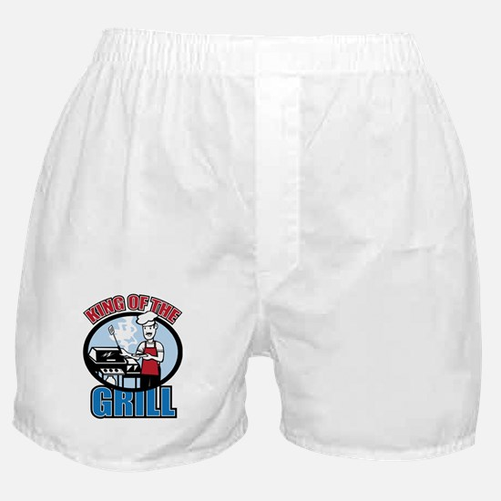 King of the Grill Boxer Shorts