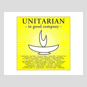 """Unitarian in Good Company"" Small Poster"