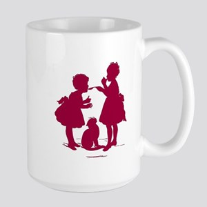 Taste It Silhouette Large Mug