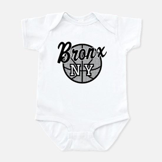 Bronx NY Basketball Infant Bodysuit
