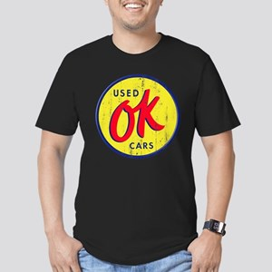 OK Used Cars Men's Fitted T-Shirt (dark)