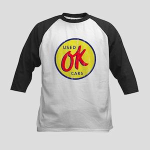 OK Used Cars Kids Baseball Jersey