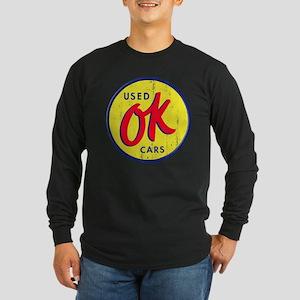 OK Used Cars Long Sleeve Dark T-Shirt