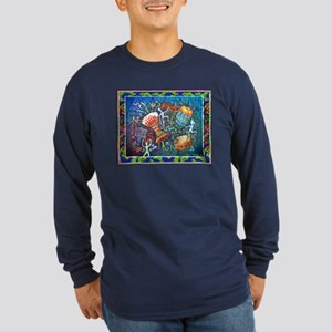 Drums Dark Long Sleeve T-Shirt