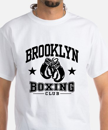 Brooklyn Boxing White T-Shirt
