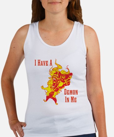 Demon In Me Hangover Women's Tank Top