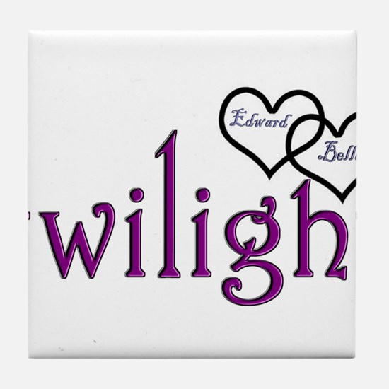 Twilight Couples- Edward/Bell Tile Coaster