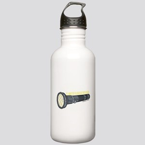 Man'in Dean's Flashlight Stainless Water Bottle 1.