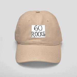 60th Birthday Saying 60 Rocks Cap