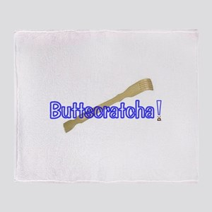 Buttscratcha- from Family Guy Throw Blanket