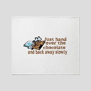 Gimme Chocolate Throw Blanket