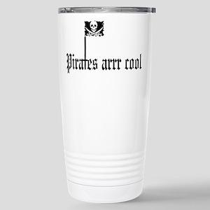 Pirates arrr cool Stainless Steel Travel Mug