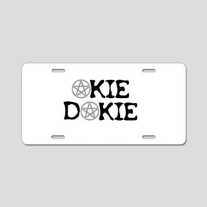 Okie Dokie Aluminum License Plate