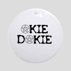 Okie Dokie Ornament (Round)