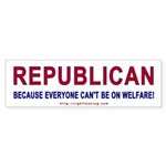 Republican Bumper Sticker