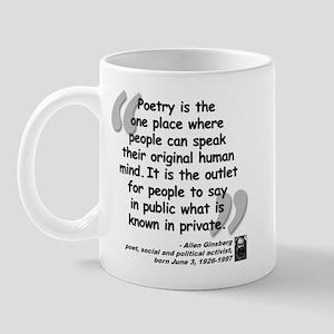 Ginsberg People Quote Mug