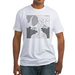 Decaceratops (no text) Fitted T-Shirt