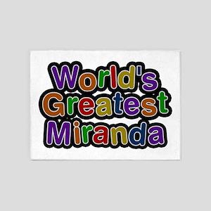 World's Greatest Miranda 5'x7' Area Rug