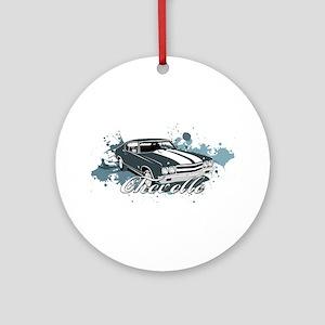 Chevelle Ornament (Round)