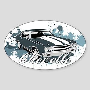 Chevelle Sticker (Oval)