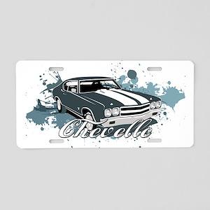 Chevelle Aluminum License Plate