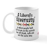 Liberal Diversity Mug