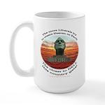 Liberal Hell on Earth Large Mug