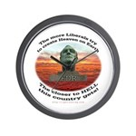 Liberal Hell on Earth Wall Clock